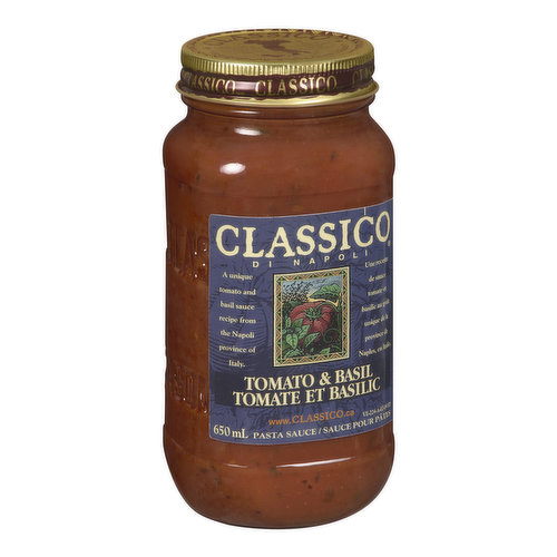 A Unique Tomato and Basil Sauce Recipe Inspired by Napoli, in the Southern Italian Region of Campania.