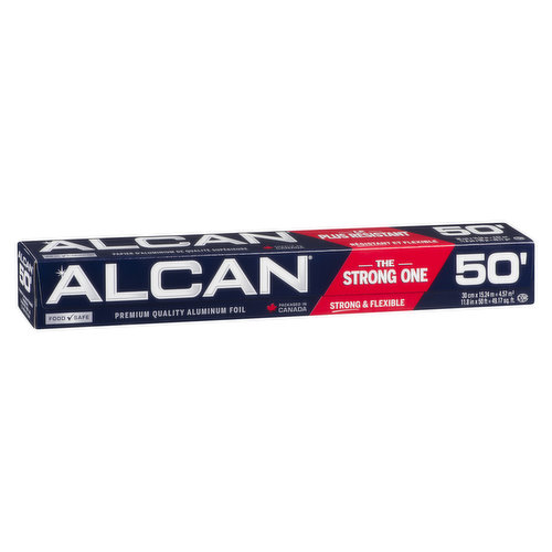 12 inches x 50 ft. Stronger and More Flexible Aluminum Foil.