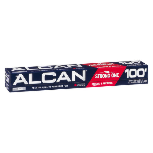 Stronger and More Flexible Aluminum Foil. 12 inch x 100 feet.