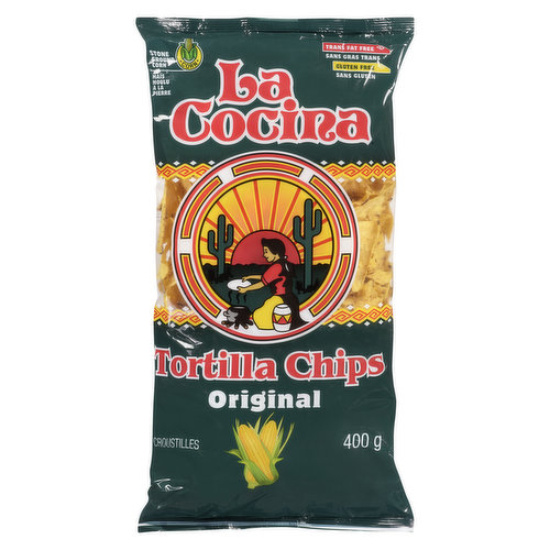 A perfect compliment to many meals! Made from the perfect blends of the highest grade, stone ground corn & lightly salted. Gluten & trans fat free.
