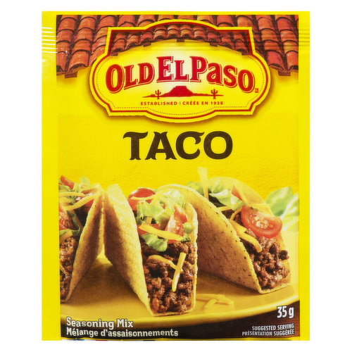 Delicious blend of seasoning to add a blast of flavour to your Mexican meal.