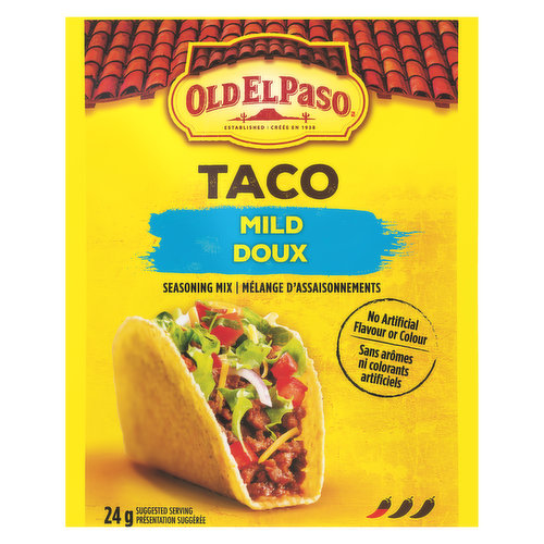 A Family Friendly seasoning that delivers delicious Mexican taste without the heat.
