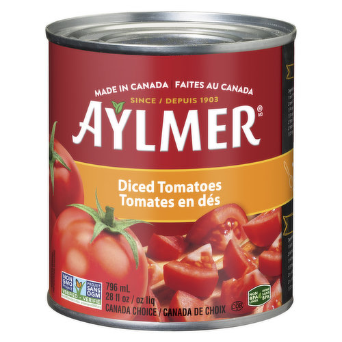 Made from vine-ripened tomatoes. Canada choice.