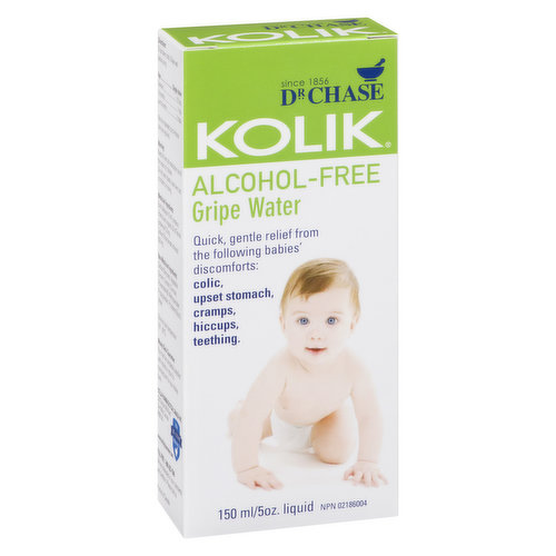 Quick Gentle Relief from the following Babies Discomforts. Colic Upset Stomach, Cramps, Hiccups, Teething.