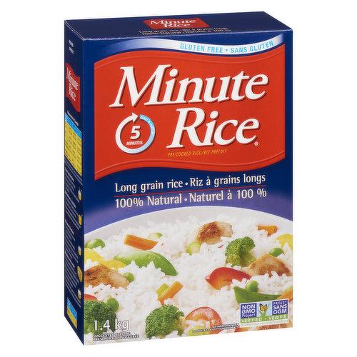 100% Premium Long Grain Rice. Ready in 5 Minutes.