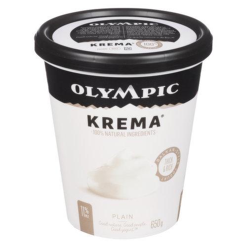 Greek Style Thick and Rich Yogurt. 100% Natural Ingredients, No Gelatin.