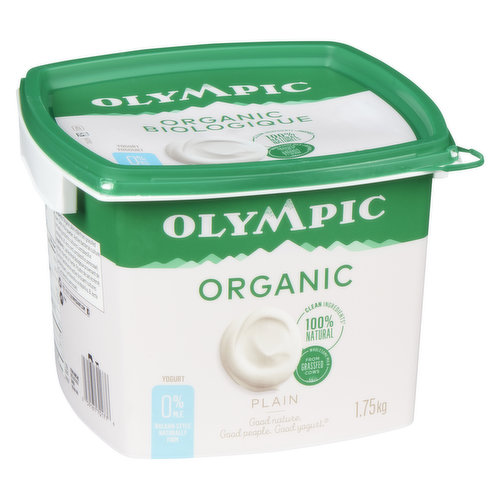 100% natural ingredients Balkan Style yogurt. An excellent source of calcium, made from wholesome milk from grassfed cows, No gelatin, Gluten free.