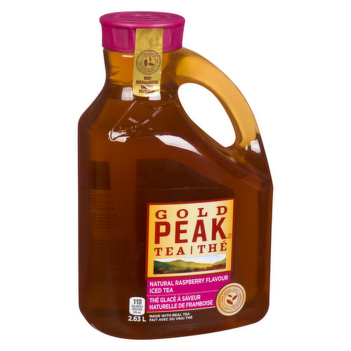 Crafted with quality: real tea, natural raspberry flavour filtered water, and lightly sweetened with cane sugar for a taste so good youll swear its homemade.