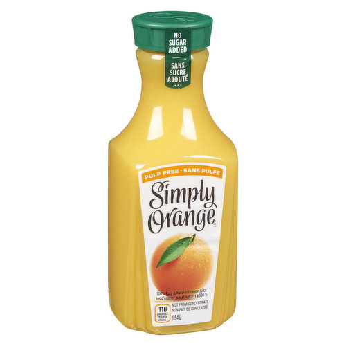 Try this premium, not from concentrate orange juice. A delicious orange juice with a taste that's the next best thing to fresh-squeezed.