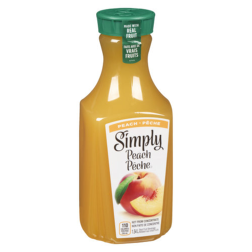 Made with real peach juice, its all-natural delicious refreshment any time of day. Never any added preservatives, colors or artificial flavors.