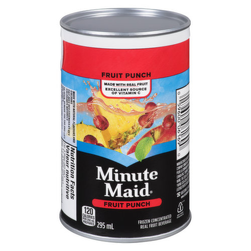 Made with Real Fruit Frozen Concentrate
