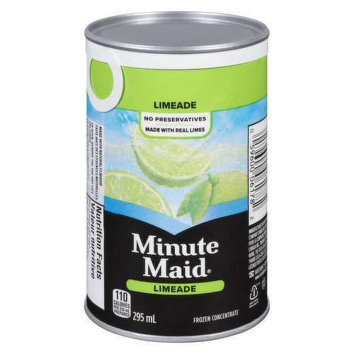 Made with Real Limes Frozen Concentrate