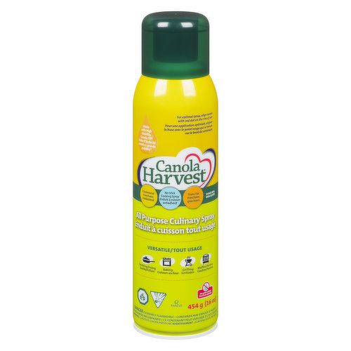 Canola Harvest Canola Oil is the vegetable oil that can boast about its healthier nutrition profile & versatility. No water addedCholesterol & Trans fat free.