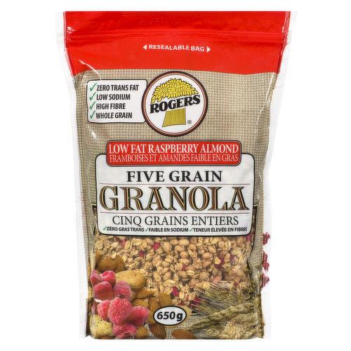 Zero Trans Fat, Low Sodium, High Fibre and Whole Grain.