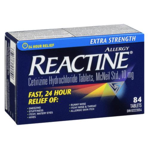 Relief from your indoor and outdoor allergy symptoms.