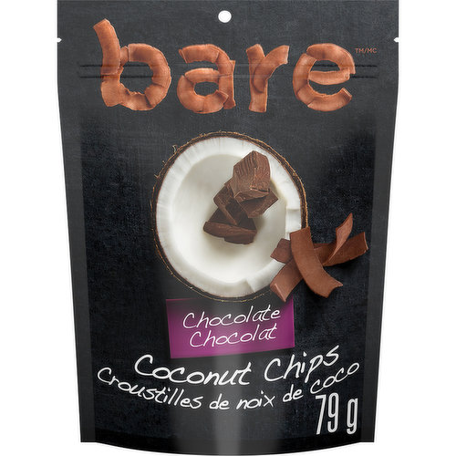 These chocolate coconut chips taste like coconut. They have a nice crunch to them, but like a crispy chocolaty snack, nice sweet.Simply made with coconuts, coconut nectar and unsweetened cocoa. Gluten free, no cholesterol, good source of fibre, dairy free, vegan and no preservatives.