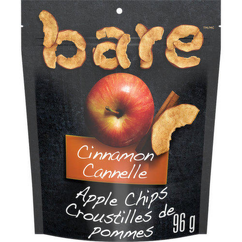 These are like a chip based, but made with apples & cinnamon. The pieces are dried out and contain some hard ones and chewy ones. Gluten free, no added sugar, fat free, dairy free, vegan and no added preservatives. Kosher and no oil added. A great hea
