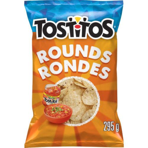Bite Size Rounds. Tortilla Chips. White Premium Corn. 0 Trans Fat