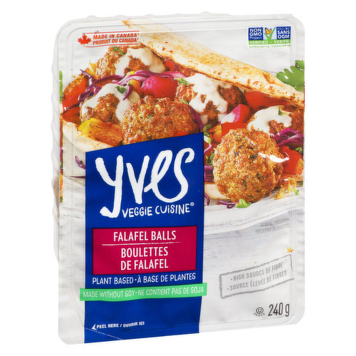 Gluten Free, Vegan. High Source of Fibre, and Iron. Delicious Middle-Eastern bites made with chickpeas, onions, carrots and a mix of herbs and spices.  Ready to enjoy on their own or in a sandwich!