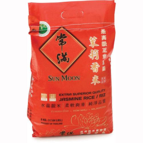 Extra Superior Quality Jasmine Rice. Product of Thailand.