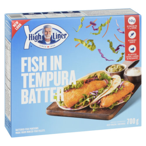 Frozen Family Pack of 12. Source of Omega-3, No Preservatives, No Artificial Colours or Flavours. Good Source of Protein.