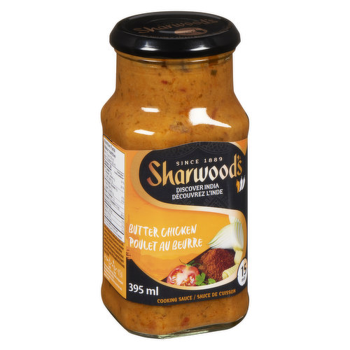 A Smooth and Creamy Mild Buttery Curry Sauce.