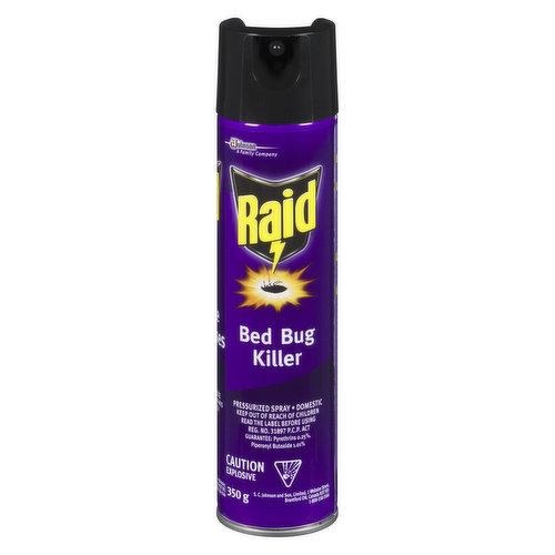 Pressurized Spray. Domestic.