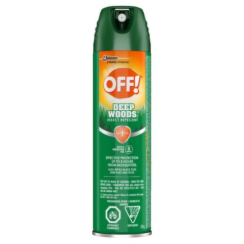 Ideal for use during longer-term outdoor activities such as hiking, hunting and fishing.Repels mosquitoes for up to 8 hours.