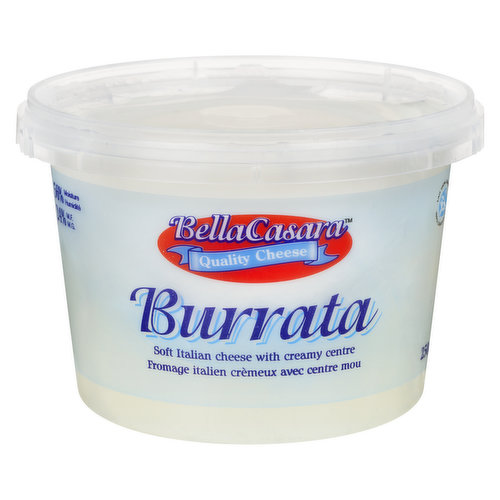 Soft Italian cheese with a creamy center. 56% moisture, 24% M.F.