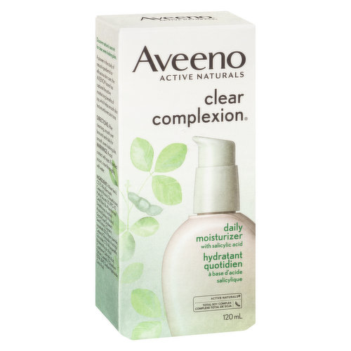 With Salicylic Acid and Total Soy Complex. For Clear, Even Looking Skin.
