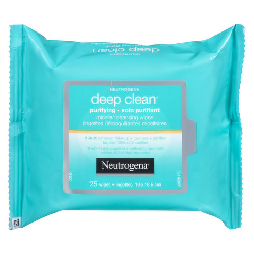 3 in 1 Removes Make up and Cleanses, Purifies Targets 100% of Impurities.