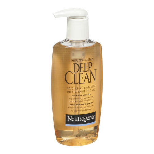 Normal to Oily Skin. A Penetrating Cleanser that Improves Your Complexion.