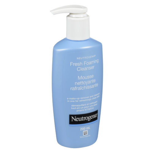 A Make-Up Remover and Cleanser in One for Refreshingly Clean Skin.