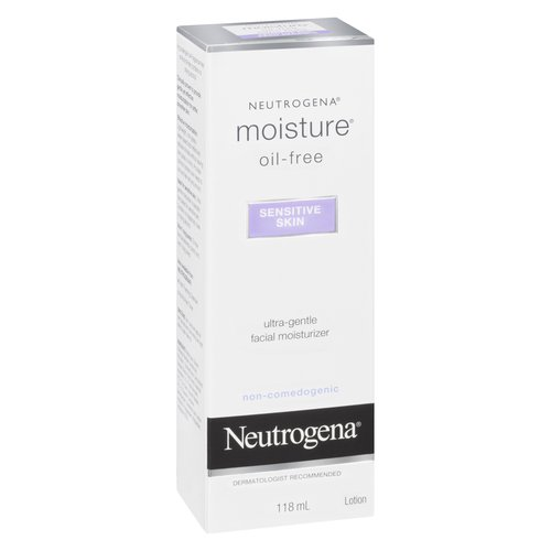 Ultra Gentle Facial Moisturizer. Non Comedogenic Dermatologist Recommended.