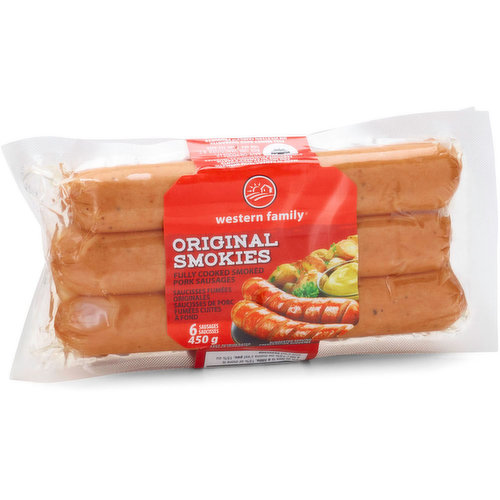 Smoked Sausages Made in Canada.