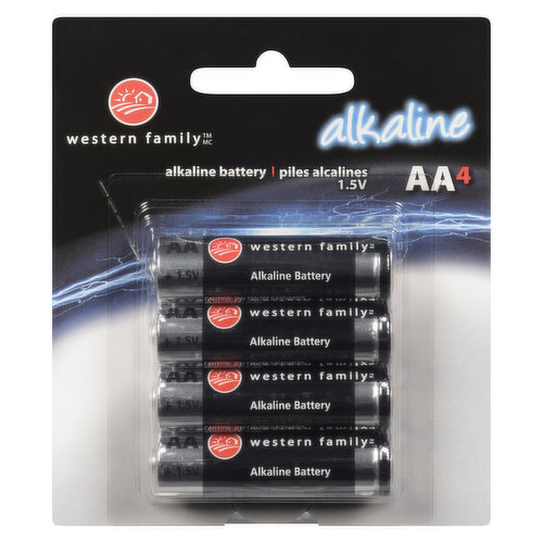 Long lasting & reliable. 1.5 volts each.
