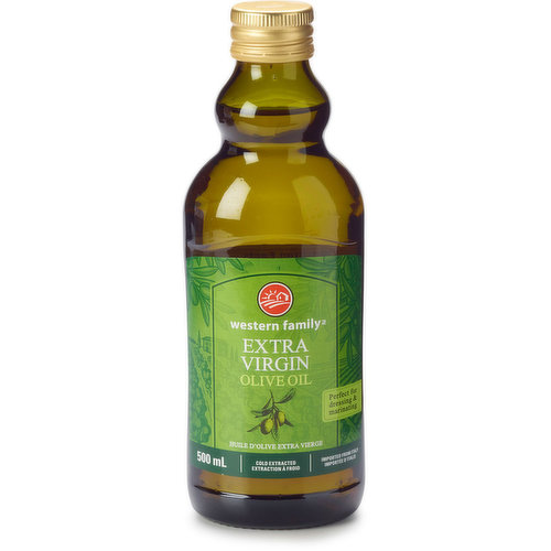 Imported from Italy. Extra virgin olive oil is made simply by crushing olives & extracting the juice. A true olive taste & lower level of oleic acid.