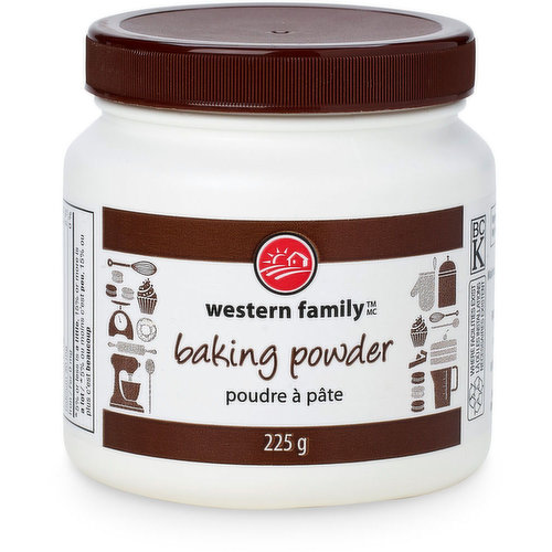Is a dry leavening agent. It's used to increase the volume & lighten the texture of baked goods.