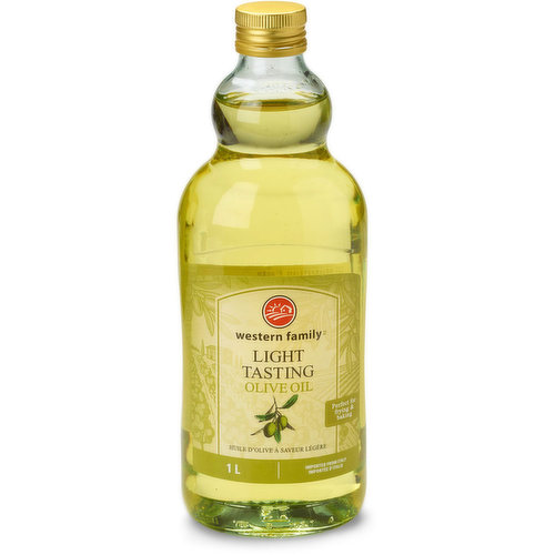 Light in Flavour Olive Oil. Imported from Italy.