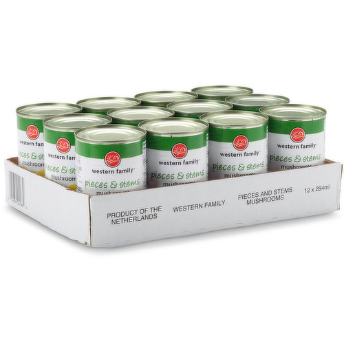 12 x 284ml cans.