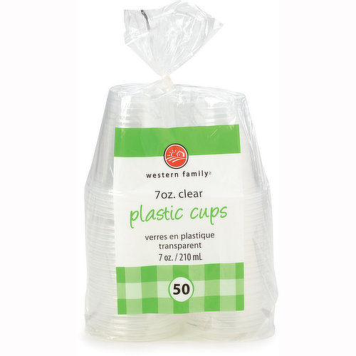 50 x 210 ml Cups.