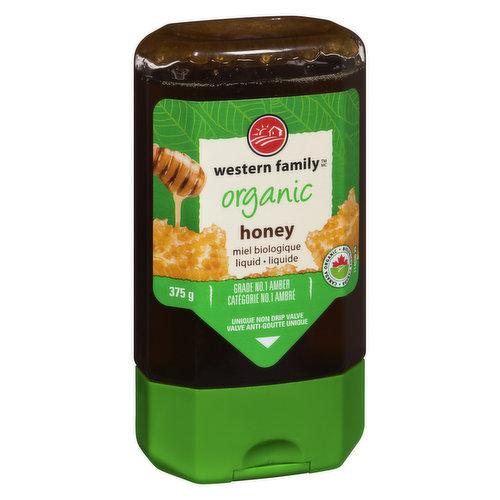 Grade No.1 amber. A blend of Australian & Brazillian honey. Unique non drip valve, easy squeeze bottle.