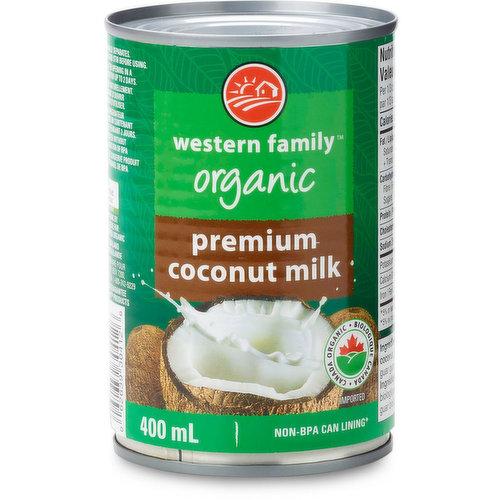 Premium Organic Coconut Milk.