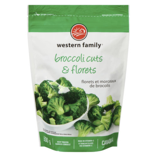 Ideal as a side dish or in soups, stews & pasta. High in Vitamin C & Iron.Frozen.