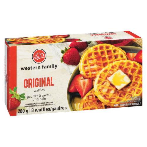 8 Frozen Original Waffles