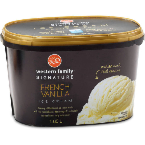Creamy, old-fashioned ice cream made with real vanilla beans. Not enough O's in smooth to describe this tasty experience!