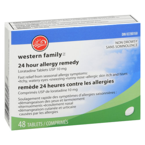 Fast Relief from Hayfever, Dust Allergies and Other Allergy Symptoms.