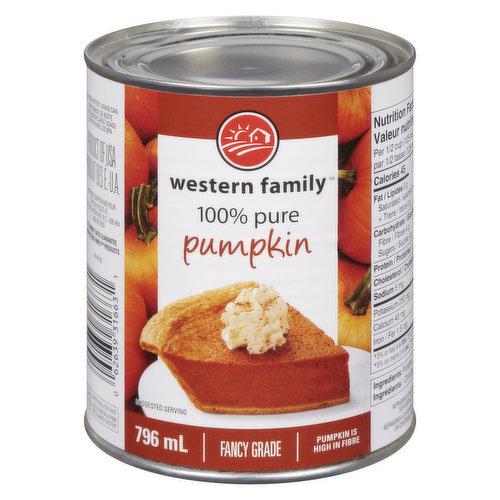 Source of vitamin A & fibre. Great for pumpkin pie. Fancy Grade.