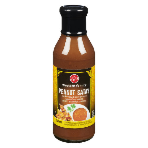 A spicy and flavourful peanut sauce ideal for dipping, Or use as a marinade and grilling sauce for meats