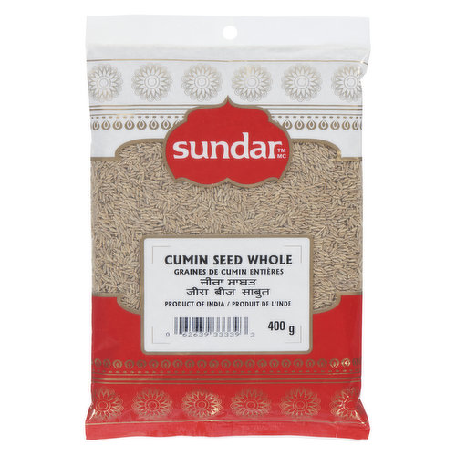 Product of India. Adding a Nutty, Peppery Flavor to Mexican and Tex-Mex dishes as well Playing an Important Role in Indian and Middle Eastern Cuisine where it is a Key Component of Curry Powder.